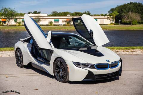 2015 BMW i8 for sale at Premier Auto Group of South Florida in Wellington FL
