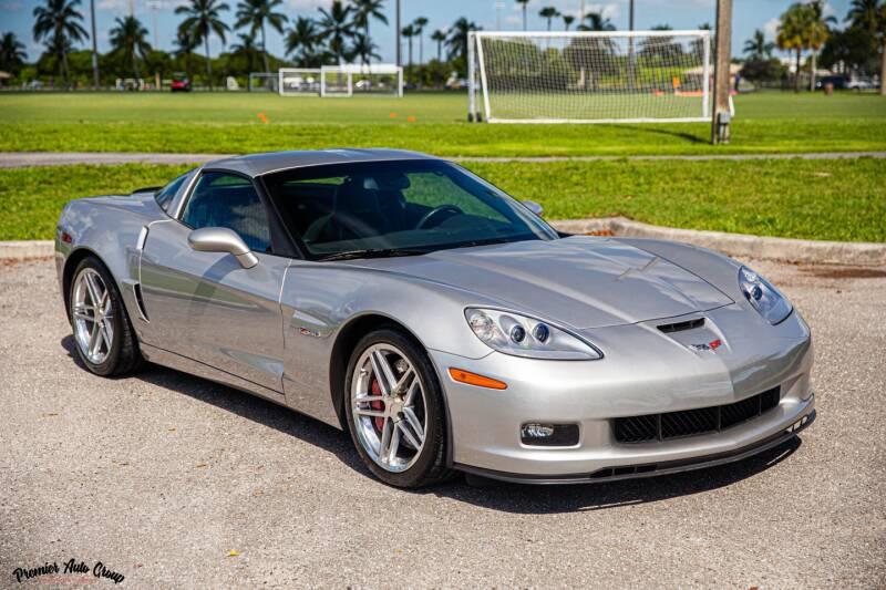 2007 Chevrolet Corvette for sale at Premier Auto Group of South Florida in Wellington FL