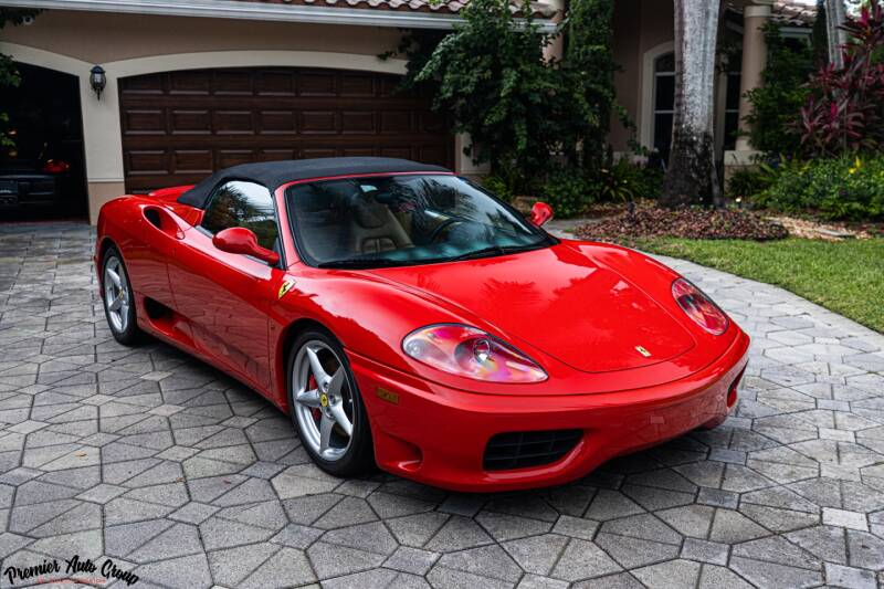 2004 Ferrari 360 Spider for sale at Premier Auto Group of South Florida in Wellington FL