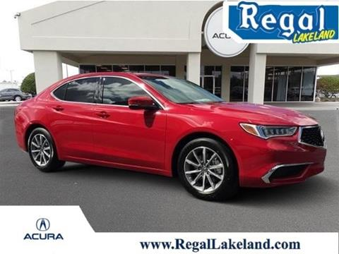 2018 Acura TLX for sale in Lakeland, FL