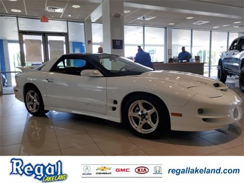 1998 Pontiac Firebird for sale in Lakeland, FL