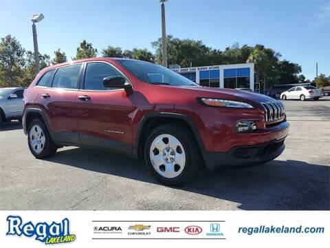 2016 Jeep Cherokee for sale in Lakeland, FL