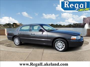 2007 Lincoln Town Car for sale in Lakeland, FL