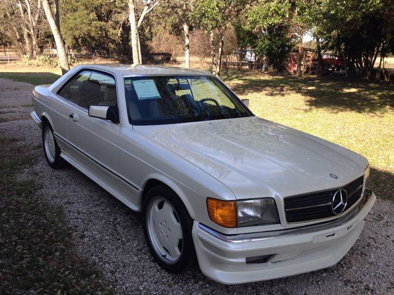 1982 mercedes benz 380 class 380 sec 2dr coupe in boerne for Mercedes benz boerne tx