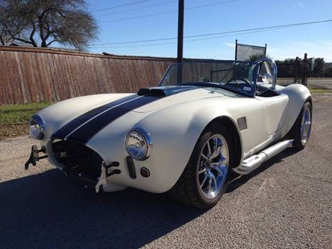 2014 UCC GT Cobra Tribute for sale in Boerne, TX