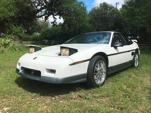 1986 Pontiac Fiero for sale in Boerne, TX