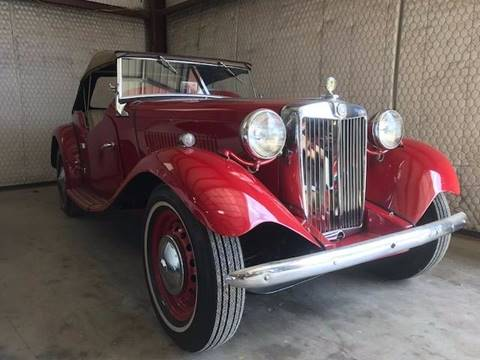 1951 MG TD for sale in Boerne, TX