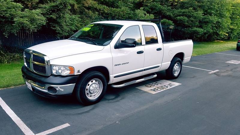 2004 Dodge Ram Pickup 2500 for sale at ASB Auto Wholesale in Sacramento CA