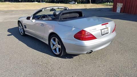2004 Mercedes-Benz SL-Class for sale at ASB Auto Wholesale in Sacramento CA