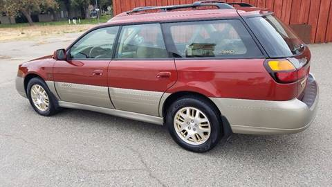 2002 Subaru Outback for sale at ASB Auto Wholesale in Sacramento CA