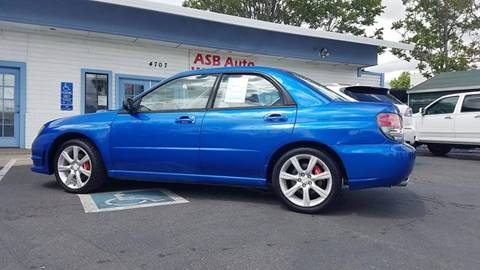 2006 Subaru Impreza for sale at ASB Auto Wholesale in Sacramento CA