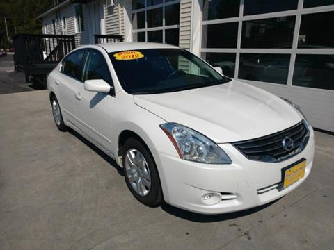 2012 Nissan Altima for sale in Barre, VT