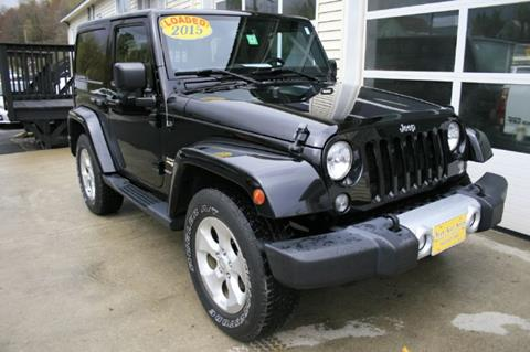 2015 Jeep Wrangler for sale in Barre, VT