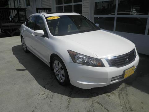 2010 Honda Accord for sale in Barre, VT
