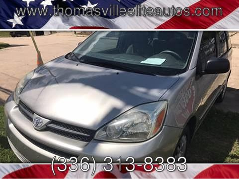 2005 Toyota Sienna for sale in Thomasville, NC