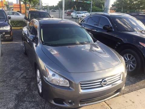 2013 Nissan Maxima for sale in Hialeah, FL