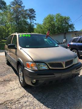 2005 Pontiac Montana for sale in Canton, GA