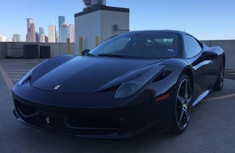 2014 Ferrari 458 Italia for sale in Houston, TX