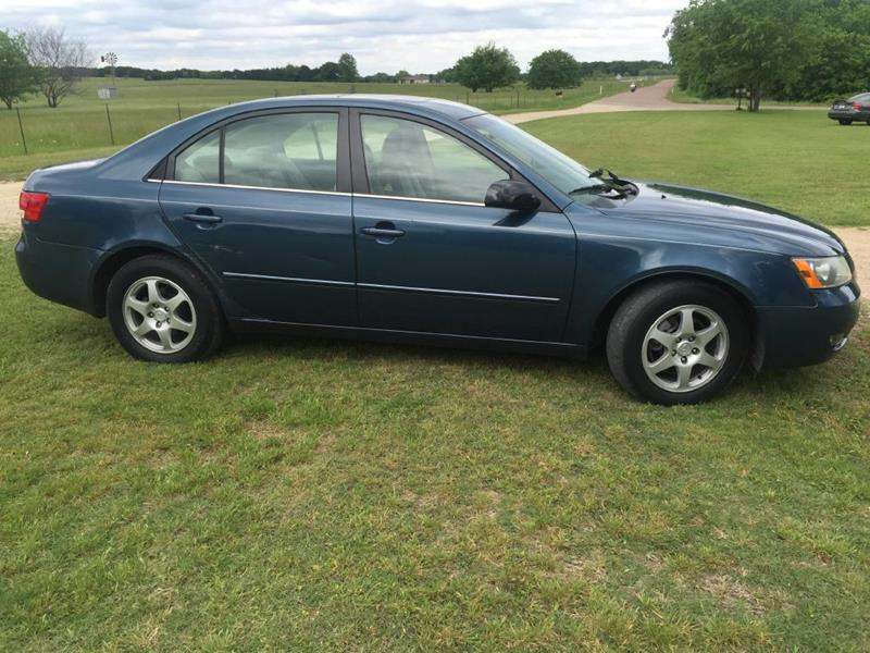 2006 Hyundai Sonata for sale at Opportunity Used Cars LLC in Waco TX