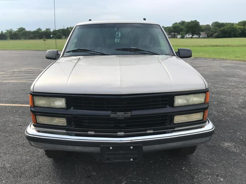 1998 Chevrolet C/K 3500 Series for sale at Opportunity Used Cars LLC in Waco TX