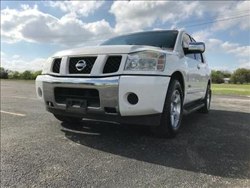 2006 Nissan Armada for sale at Opportunity Used Cars LLC in Waco TX