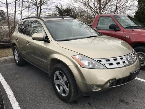 2005 Nissan Murano for sale in Winchester, VA