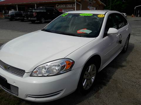 2012 Chevrolet Impala for sale in Pageland, SC