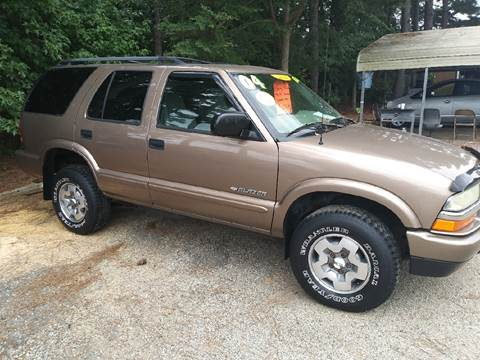 2004 Chevrolet Blazer for sale in Pageland, SC