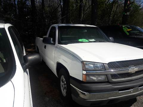 2004 Chevrolet Silverado 1500 for sale in Pageland, SC