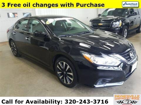 2018 Nissan Altima for sale at Paynesville Chevrolet - Buick in Paynesville MN