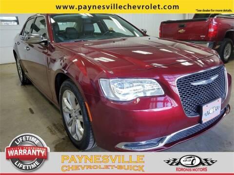 2019 Chrysler 300 for sale at Paynesville Chevrolet - Buick in Paynesville MN