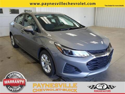 2019 Chevrolet Cruze for sale at Paynesville Chevrolet - Buick in Paynesville MN