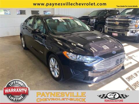 2019 Ford Fusion Hybrid for sale at Paynesville Chevrolet - Buick in Paynesville MN