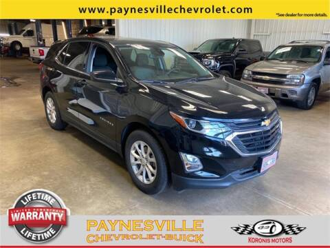 2020 Chevrolet Equinox for sale at Paynesville Chevrolet - Buick in Paynesville MN