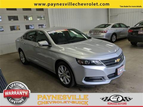 2019 Chevrolet Impala for sale at Paynesville Chevrolet - Buick in Paynesville MN