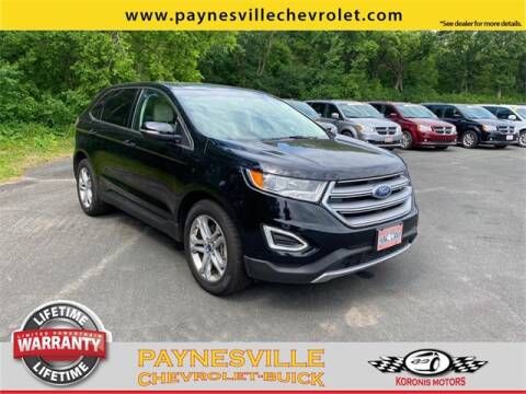 2017 Ford Edge for sale at Paynesville Chevrolet - Buick in Paynesville MN