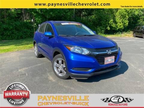 2018 Honda HR-V for sale at Paynesville Chevrolet - Buick in Paynesville MN