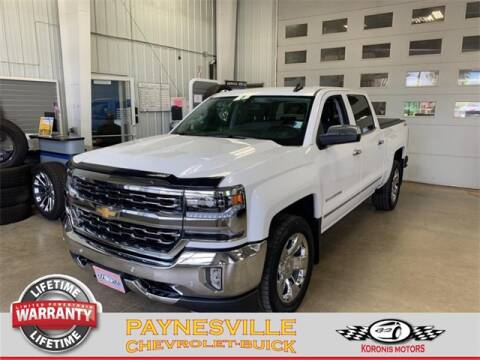 2017 Chevrolet Silverado 1500 for sale at Paynesville Chevrolet - Buick in Paynesville MN