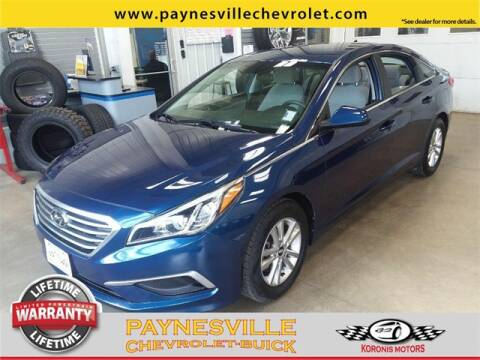 2017 Hyundai Sonata for sale at Paynesville Chevrolet - Buick in Paynesville MN