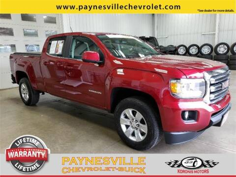 2018 GMC Canyon for sale at Paynesville Chevrolet - Buick in Paynesville MN