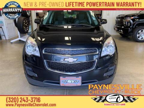 2012 Chevrolet Equinox for sale at Paynesville Chevrolet - Buick in Paynesville MN