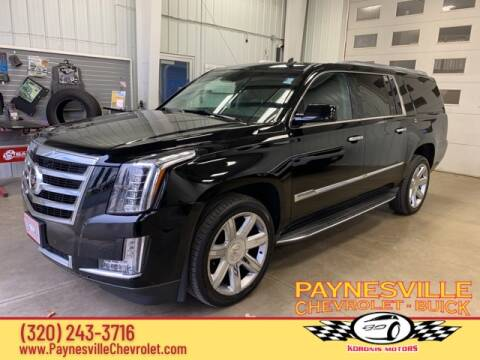 2015 Cadillac Escalade ESV for sale at Paynesville Chevrolet - Buick in Paynesville MN