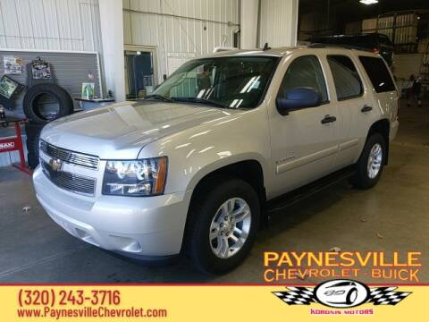 2008 Chevrolet Tahoe for sale at Paynesville Chevrolet - Buick in Paynesville MN