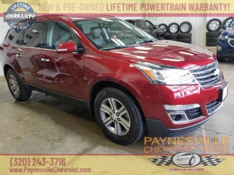 2016 Chevrolet Traverse for sale at Paynesville Chevrolet - Buick in Paynesville MN
