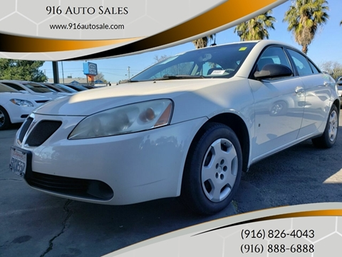 2008 Pontiac G6 for sale in Sacramento, CA