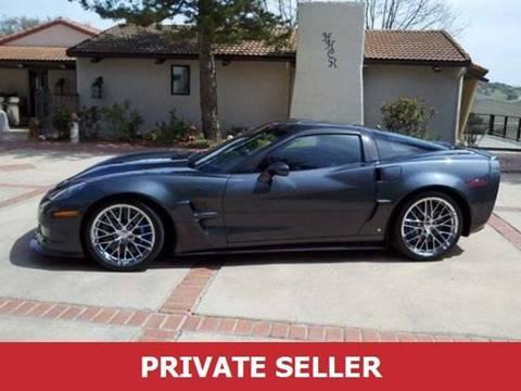 2009 Chevrolet Corvette for sale in Sacramento, CA