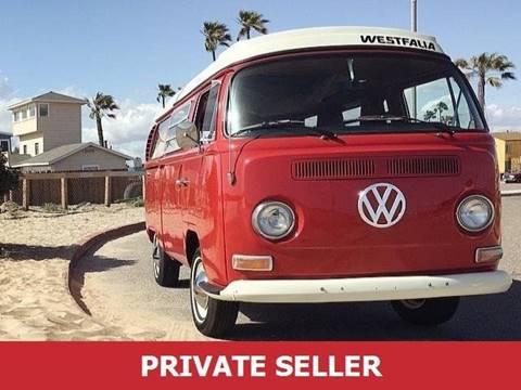 1969 Volkswagen Vanagon for sale in Sacramento, CA