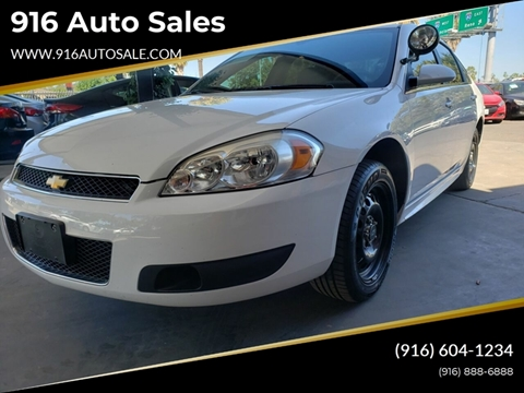 2014 Chevrolet Impala Limited Police for sale in Sacramento, CA