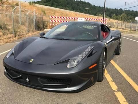 2010 Ferrari 458 Italia for sale in Sacramento, CA