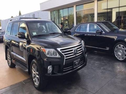 2015 Lexus LX 450 for sale in Sacramento, CA
